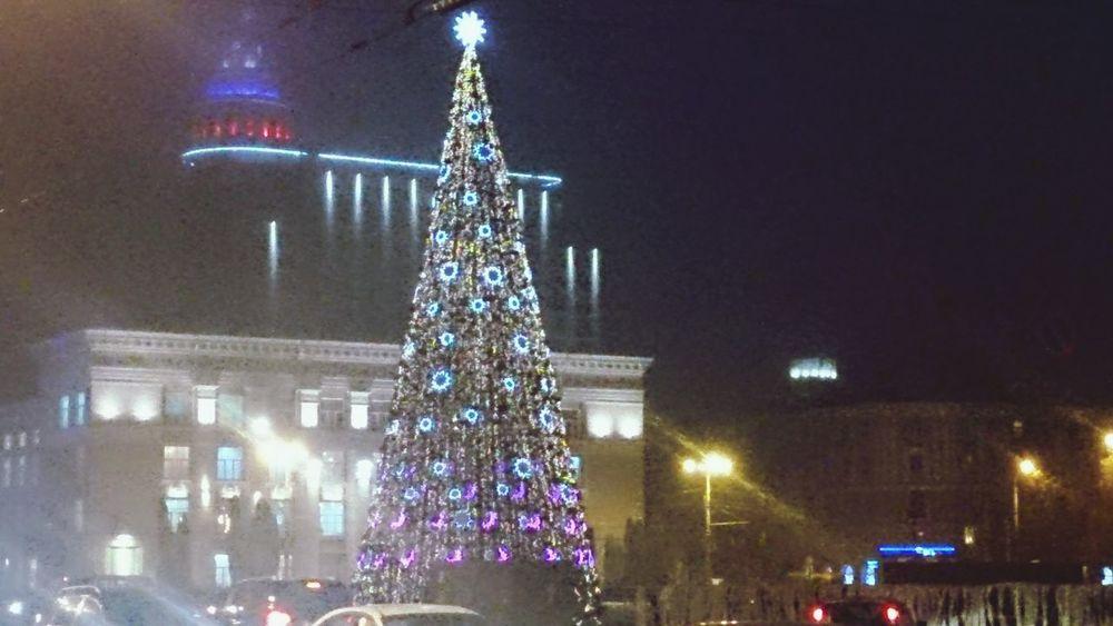 Wintertime Voronezh поход домой из University теперь будет сопровождаться Pittoresque видом (●´∀`●)