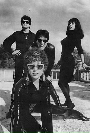 The Cramps Lux Interior Poison Ivy Punk