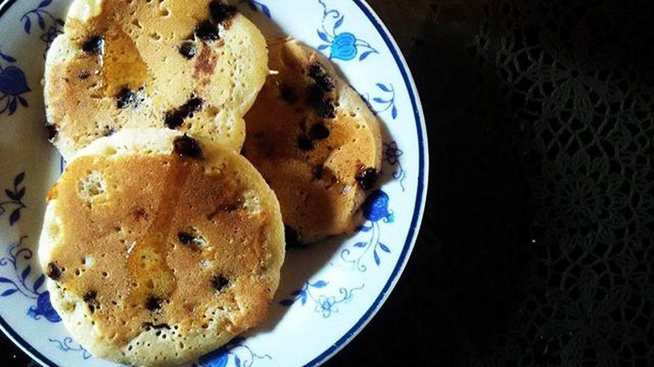 Daily pancakes 🍫🍫🍫