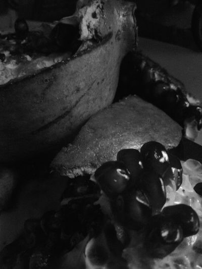 Indoors  No People Food Day Close-up Black & White Still Life Fruit Seeds Pomogranate Eating Healthy Natural Beauty In Nature Edible  Delicate Skin Jewel Like Food And Drink Succulent Shadow And Light Glisening Black And White Friday EyeEmNewHere