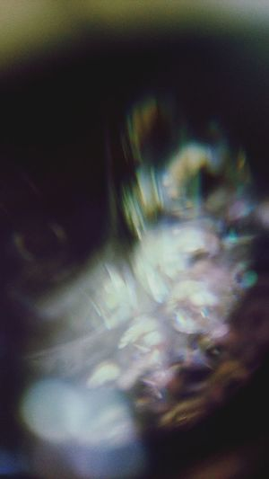 Defocused image of abstract background