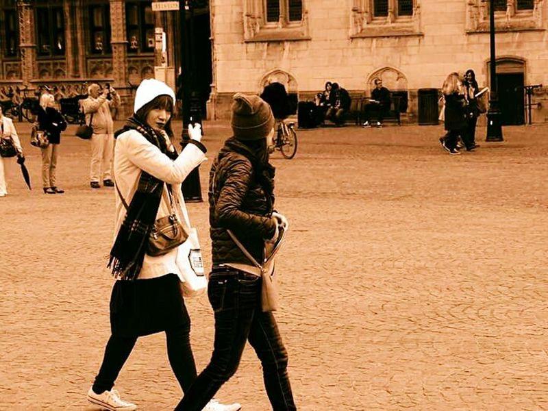 Brugge, Belgium EyeEm Best Shots - People + Portrait Tourists Eyemphotography Relaxing Taking Photos Enjoying Life My New Camera  EyeEm Best Shots - Black + White Monochrome