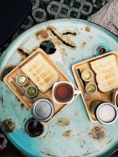 Thailand Bangkok Southeastasia Travel Travel Destinations Hipster Wanderlust Recycled Materials Breakfast Toast Tea Hostel Budget Traveller Backpacking