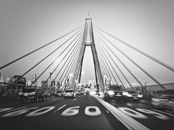 anzac bridge Sydney IPhoneography Bridge