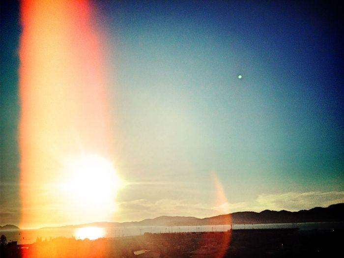 Sun Afternoon Vigo Sky Blue Sky Cityscape Just Another Of My Typical Sun Photos