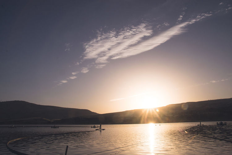 Sunset Water Beauty In Nature Nature Dramatic Sky Scenics Astronomy Tranquility Landscape Science No People Sky Outdoors sunset #sun #clouds #skylovers #sky #nature #beautifulinnature #naturalbeauty photography landscape Sunset_collection Fishingpond Pool Fishpool