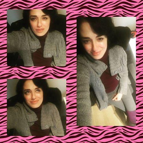 Hello 👋👋👋👋 Hastalık yorgunluk vs kendime geldim .... Kış selfiesi Selfie Kolaj Sedanin_kolajlari Autumn Winter Yazistiyorumben 😳