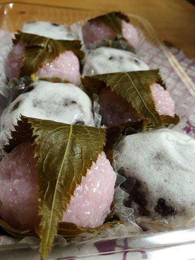 Japanese Food Sweet Oita Love Sogood Delicious Japanesesweets Blossom Mochi Daifuku さくらもち Japanese Culture Beutiful  大分 三木屋さんの和菓子です。とても美味しい!