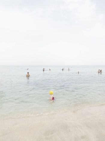 Fluorescent מייבתגלים מייים מייאייפון10 ShotOnIphone IPhoneX Water Sea Beach Sky Land Beauty In Nature Horizon