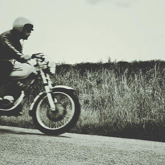 Moto Black & White Speed Retro Leather Jacket Retro On The Move Capturing Movement Capture The Moment