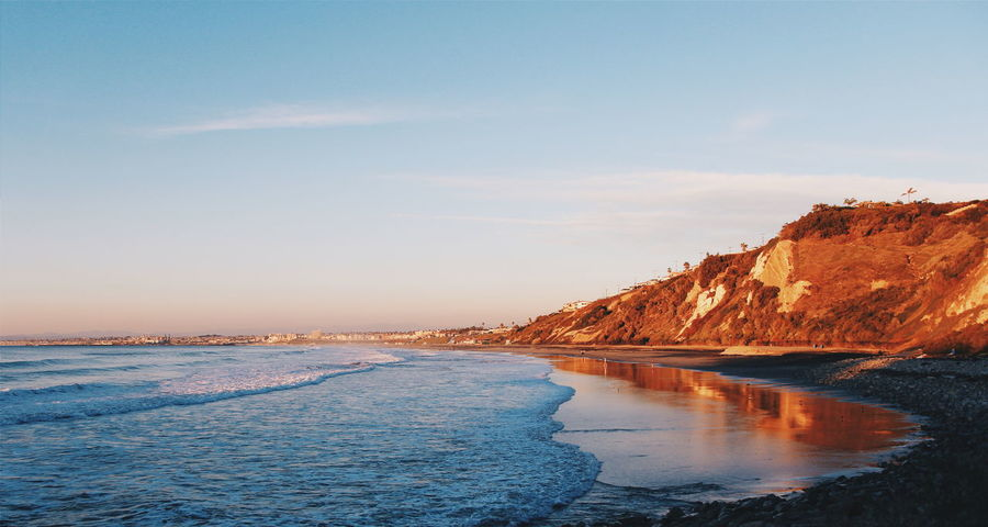 California Coastal Beach Calm Coastline Exploring Geology Here Belongs To Me Los Angeles, California Losangeles Majestic Ocean Outdoors Physical Geography Ranchos Palos V Sand Scenics Sea Seascape Shore Sky SoCal Southern California Tranquil Scene Tranquility Water
