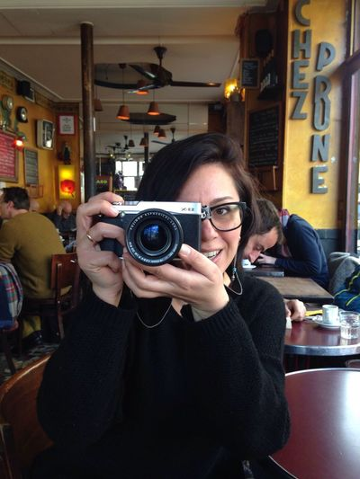 The photographer photographed!!! Enjoying Life Bistro Taking Photos Hanging Out
