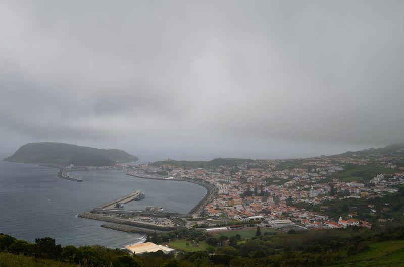 2016 Architecture Azores Açores Açores - Portugal City Faial Foggy Horta Overcast Sky Water Harbour Nikon D5100