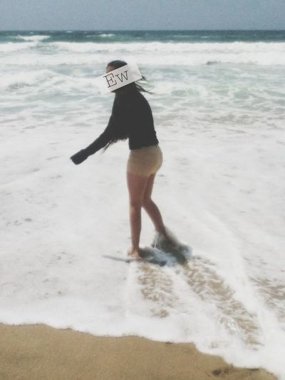 Bad Weather At The Beach Today :b