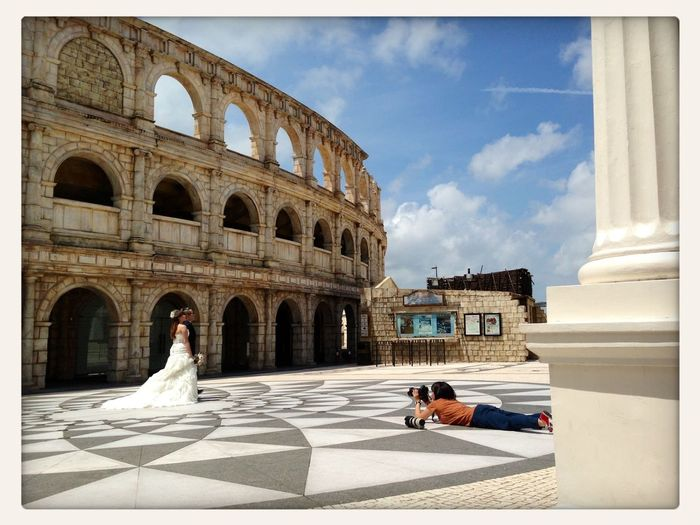 A wedding pictorial. Marriage Couple  love Wedding macau First Eyeem Photo