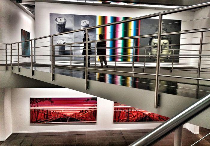 Art Exhibition Chinese Whispers Kunstmuseum Bern Interior Bridge