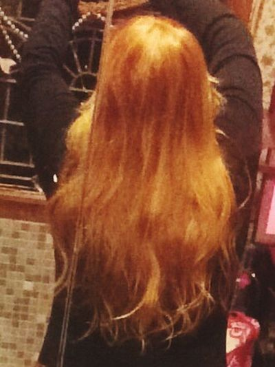 Hello World Self Portrait Behind The Scene Ginger Hair getting Long Hair Redhead Always Peace And Quiet Contemplating