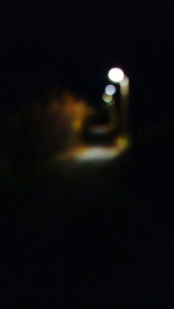 Illuminated Night Street Light Dark Lighting Equipment Road Street The Way Forward Outdoors Electric Light No People