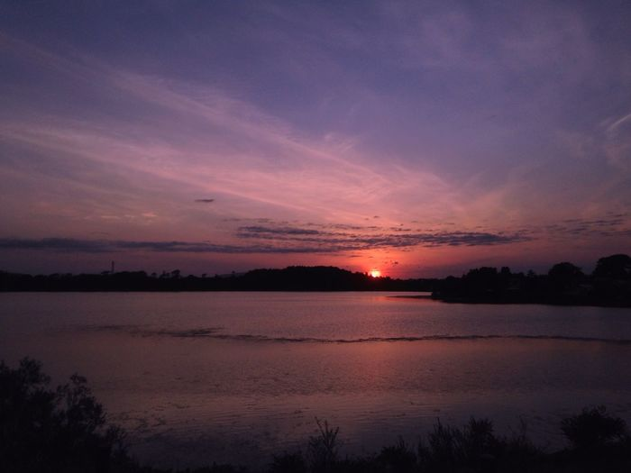 IPhone Sky Sunset Water Beauty In Nature Scenics - Nature Cloud - Sky Tranquility
