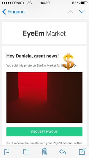I sold my first Photo on EyeEm, today. ☺️☺️☺️ First Sold Photo Sold On Getty Images