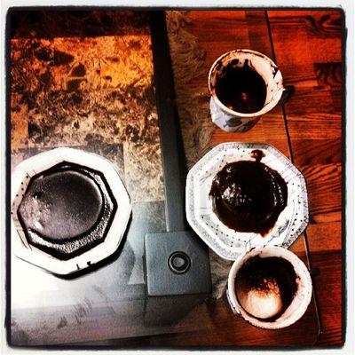 Future telling coffee
