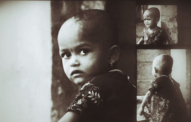 My Hazy World Beauty Childhood Crying Child Cute Headshot Innocence Looking At Camera Preschool Age Toddler