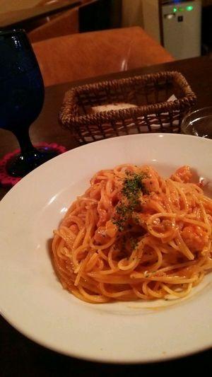 事務所抜け出し一人ランチ♥ Lunch Pasta Delicious トマトクリーム