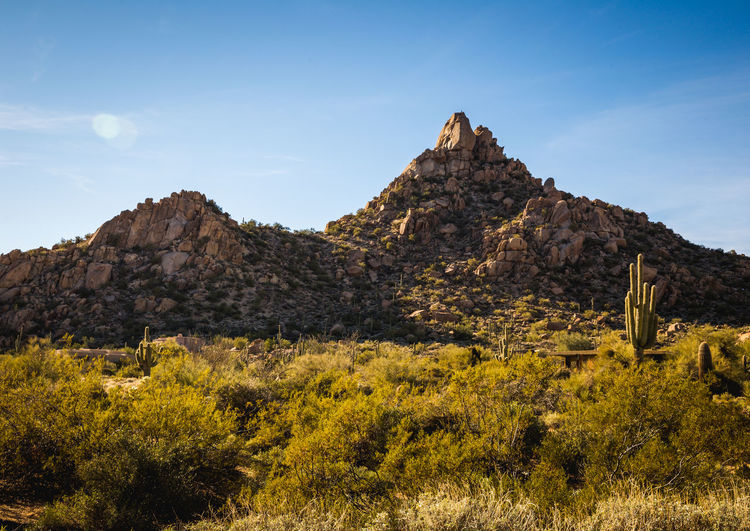 Desert landscape in Scottsdale, Arizona. Arizona Scottsdale Scottsdale, AZ Beauty In Nature Landscape Mountain Nature No People Outdoors Rock Formation Scenics Sky Tranquility Travel Destinations