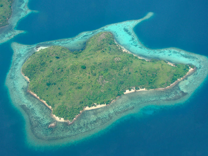 Caron Philippines Caron Aerial Photography Aerial View Beauty In Nature Day Island Nature No People Outdoors Scenics Sea Water