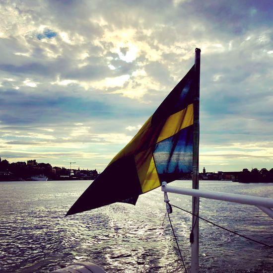 Sweden Sky Flag