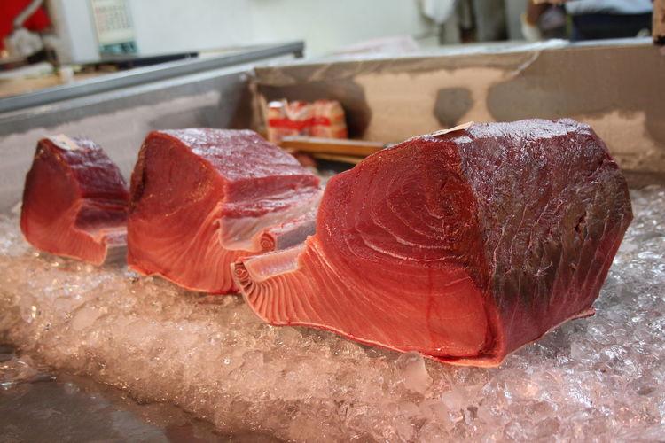 Seafood Sushi Tokyo Tokyo Fishmarket Food Freshness Healthy Food Sashimi  Tuna