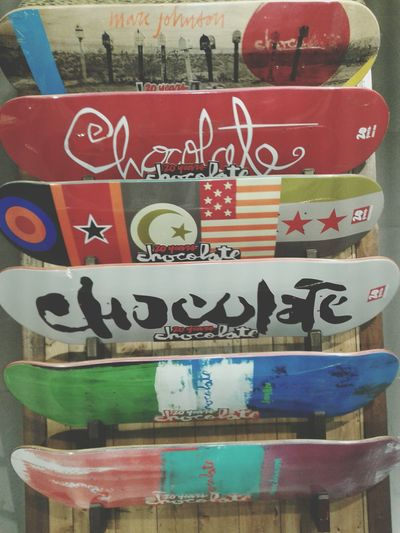 Hello World Check This Out Skateboard Deck Chocolate Skateboarding Skatelife Trasher Sports Affordable