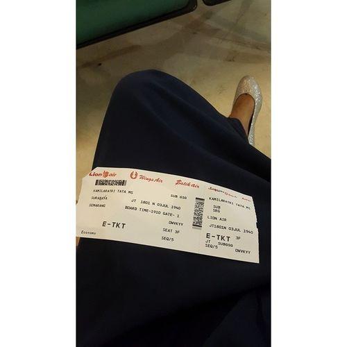 Pulang semarang Bandara Surabaya