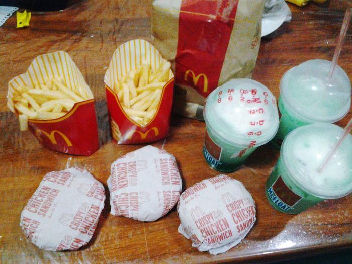 Midnight snacking :D