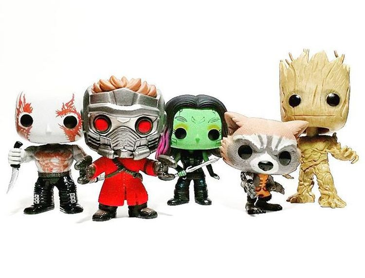 Guardians of the Galaxy Pops. Funko Marvel Guardians Of The Galaxy Star Lord Gamora Drax Rocket Raccoon Groot