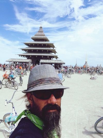 People And Places Burning Man 2016 The Temple That's Me