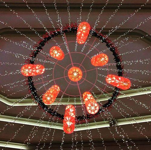 Déco Lights Cny Damansara Damansarajaya Indoor Interestingplaces Atria Atriashoppinggallery Symetry Symetrical @alwani_mohammad @fazleemohammad @zauyahmuhammad