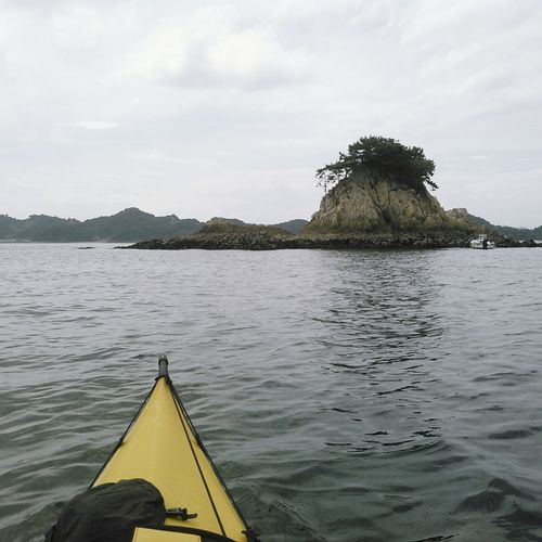 犬ノ頭島 Seakayaking Sea Summer Outdoor Photography Setouchi Sea
