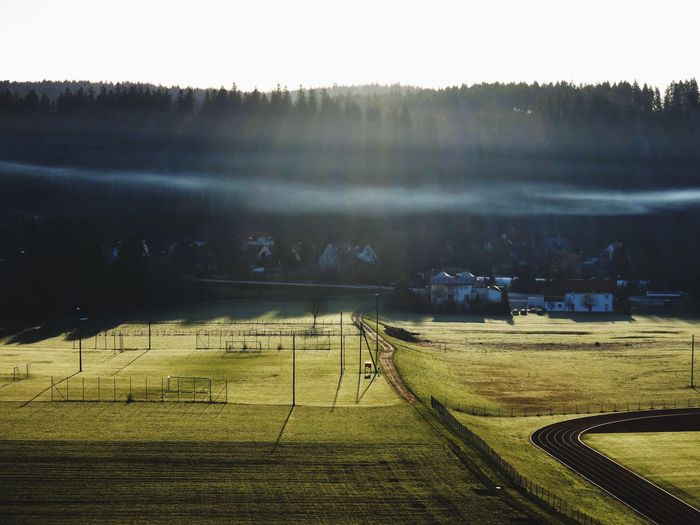 Exploring Light And Shadow Foggy Landscape_photography My Hometown From My Point Of View