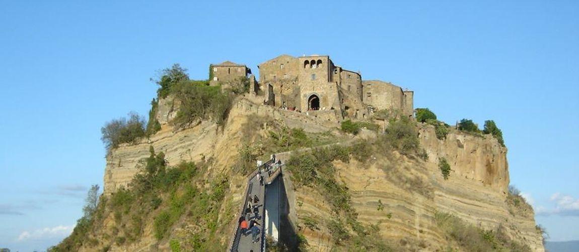 Architecture Castle Civita Di Bagnoregio Fortified Wall History Italy Medieval The Past Travel Destinations