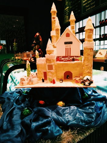 Castle Cake.❄❄❄ Architecture Creativity Merry Christmas🎄🎅🏻 Hotel Decoration Warm Colors EyeEm Ready