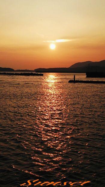 Miyazaki Kushima Sunset Yuka  Relaxing Fresh Air Healing 夕凪 Happy Pray For Kyushu