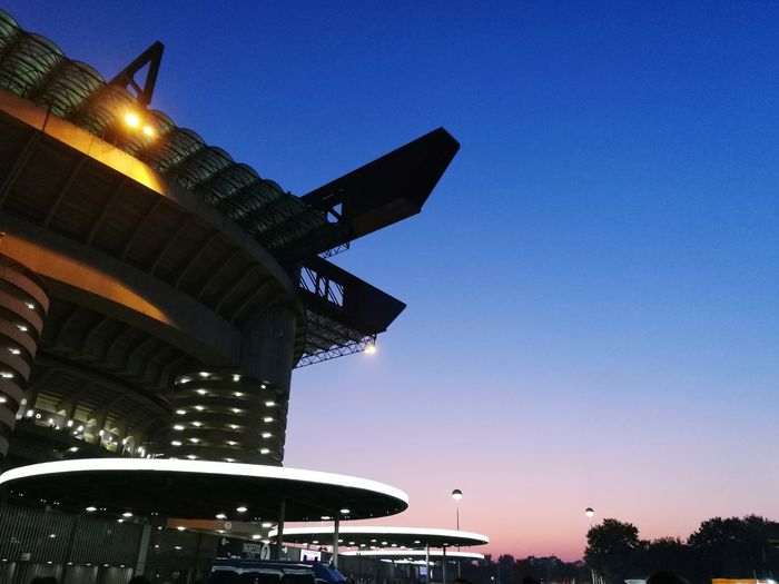 Architecture Built Structure Sky Sunset Cityscape Stadio San Siro Derby Match Milano Inter