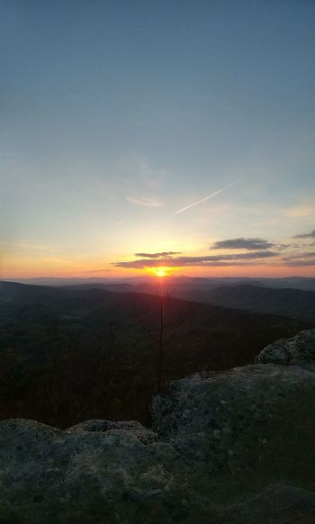 Easter Sunrise - McAfee Knob. Roanoke, VA 9064936