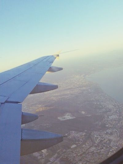 Bitta side wing ✈ Malaga Beautiful SPAIN City Leaving Movingbackhome ✌