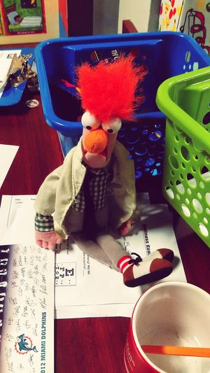 Mr.Beaker The Muppets Childhood Memories Throwback Kids At Play I Love My Job! Hello World Just Taking Pictures Taking Photos