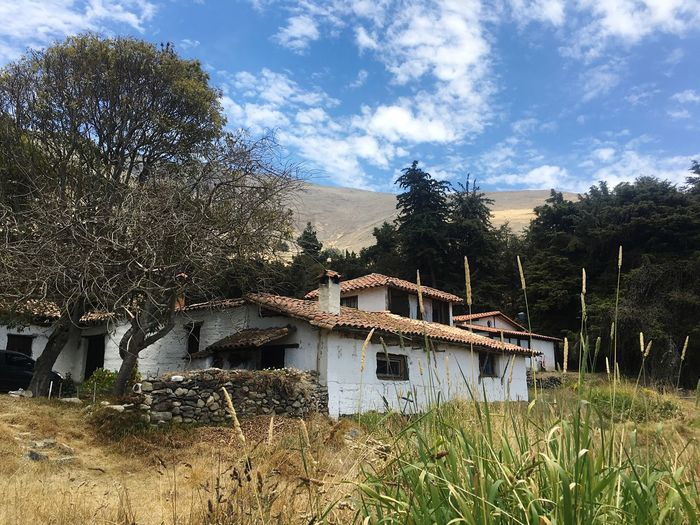 Mérida Andes Landscape Andesmountains Andes Andes Mountains Countryside Country Life Built Structure Architecture Building Exterior Tree Sky House No People Grass Residential Building Outdoors Nature Day Cloud - Sky Hostel