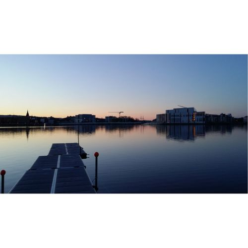 Evening at Munksjön