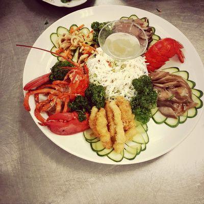 五味龍蝦冷盤