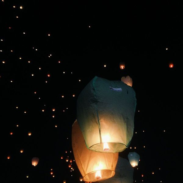 morning fellow instagrammers, here's some of lampion from last night ⭐⭐⭐ Instakukar Instameetnight